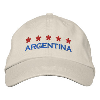 ARGENTINA - 001 EMBROIDERED BASEBALL CAP