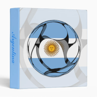 Argentina #1 3 ring binder
