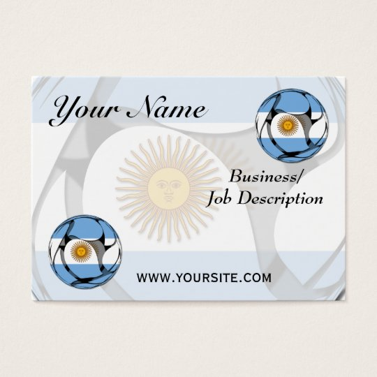 Argentina #1 business card