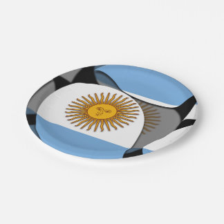Argentina #1 paper plate