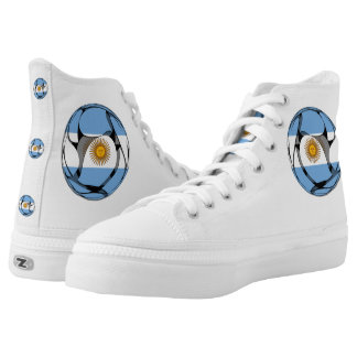 Argentina #1 printed shoes