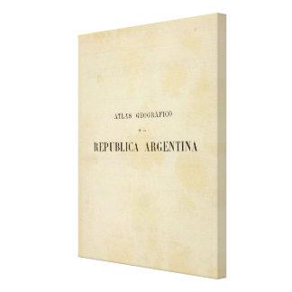 Argentina 2 canvas print