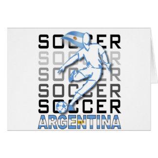 Argentina America 2011 Card