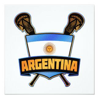 Argentina Argentine Lacrosse Card