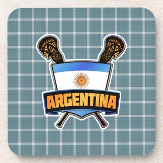 Argentina Argentine Lacrosse Drinks Coasters