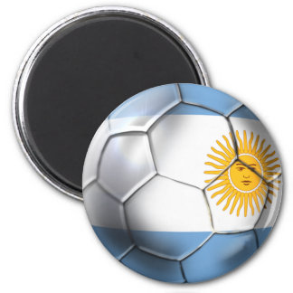 Argentina Argentine Soccer Ball Sports fans Magnet