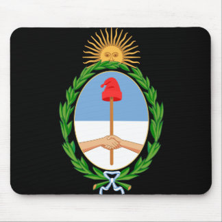 argentina arms mouse pad
