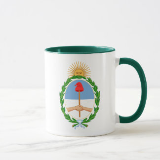 argentina arms mug