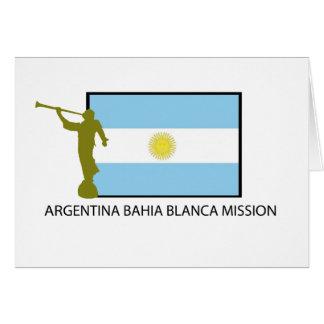 Argentina Bahia Blanca Mission Card