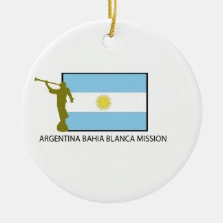 Argentina Bahia Blanca Mission Christmas Ornaments
