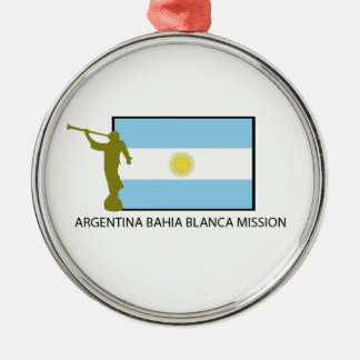 Argentina Bahia Blanca Mission Christmas Tree Ornaments