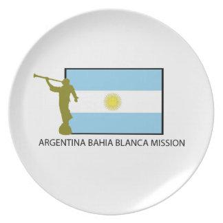 Argentina Bahia Blanca Mission Plate