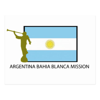Argentina Bahia Blanca Mission Postcard