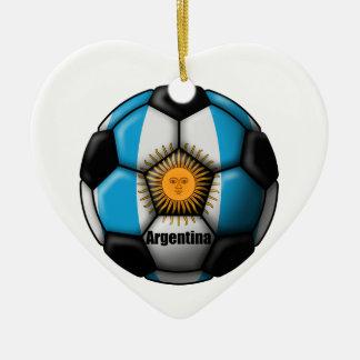 Argentina Ball Ceramic Ornament