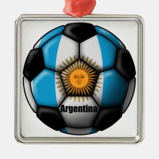Argentina Ball Metal Ornament