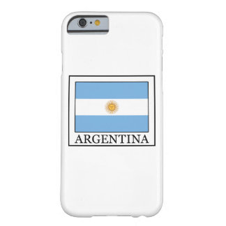 Argentina Barely There iPhone 6 Case