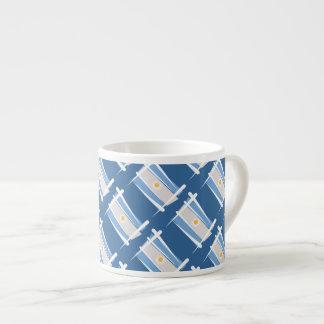 Argentina Brush Flag Espresso Cup