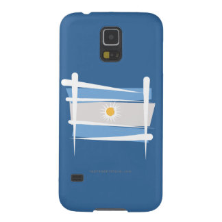 Argentina Brush Flag Galaxy S5 Cover