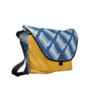 Argentina Brush Flag Messenger Bag