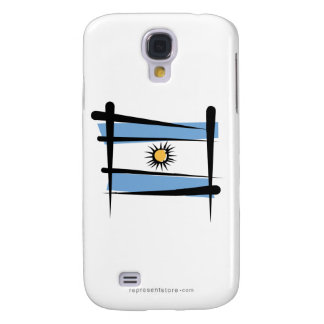 Argentina Brush Flag Samsung S4 Case