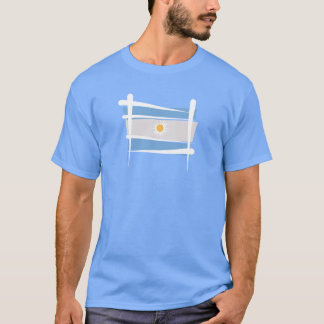 Argentina Brush Flag T-Shirt