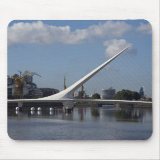 Argentina, Capital city of Buenos Aires. Woman Mouse Pad