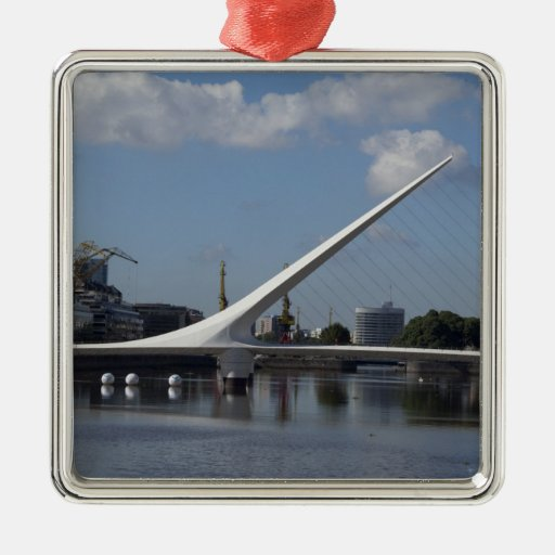 Argentina, Capital city of Buenos Aires. Woman Christmas Tree Ornaments