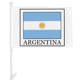Argentina Car Flag