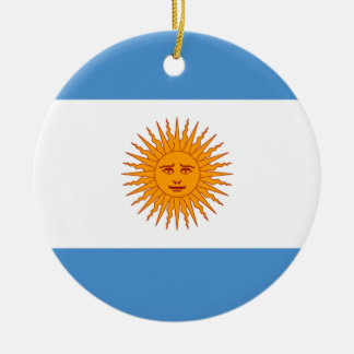 Argentina Ceramic Ornament