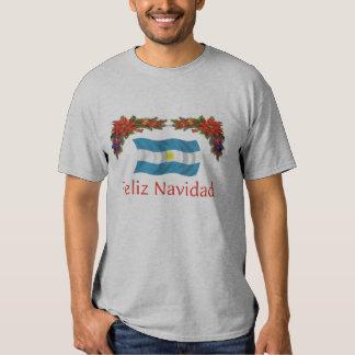 Argentina Christmas T Shirt
