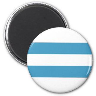 Argentina Civil Ensign 2 Inch Round Magnet
