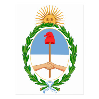 Argentina Coat of arm AR Post Cards