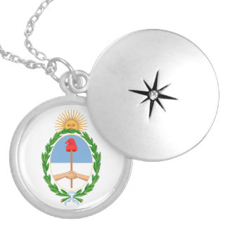 Argentina Coat of Arms Necklace