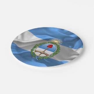 Argentina Coat of arms Paper Plate