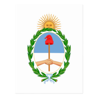 Argentina Coat of Arms Post Card