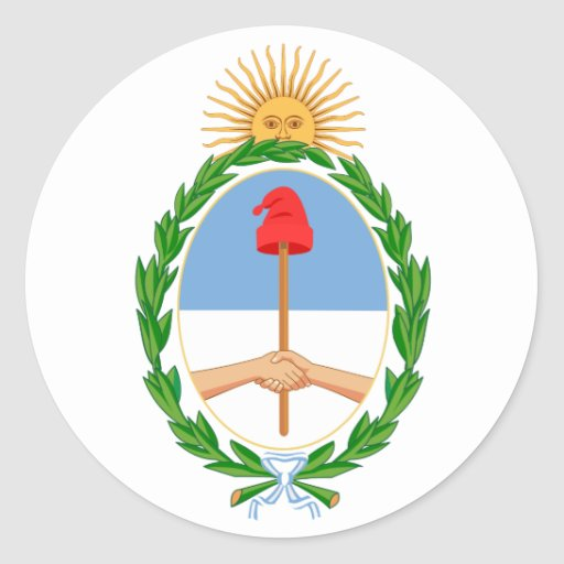 Argentina Coat of Arms Sticker