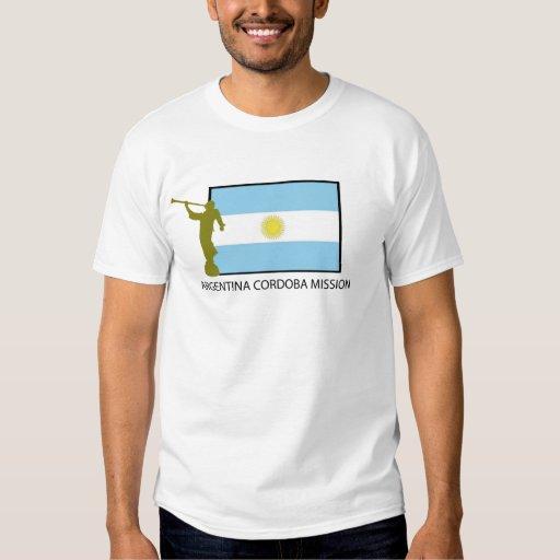 ARGENTINA CORDOBA MISSION LDS T-SHIRT