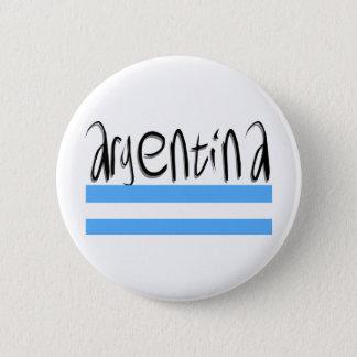 Argentina design! pinback button