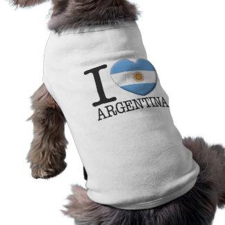Argentina Dog Tee Shirt