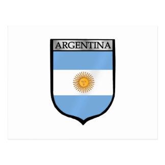 Argentina emblem La Albiceleste soccer gifts Postcard