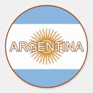 Argentina Euro Sticker