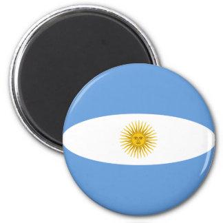 Argentina Fisheye Flag Magnet