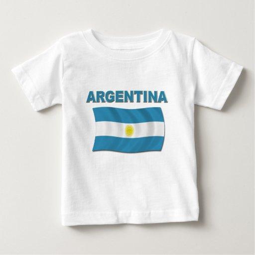 argentina flag 1 baby t shirt zazzle