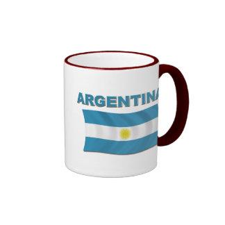 Argentina Flag 1 Mugs