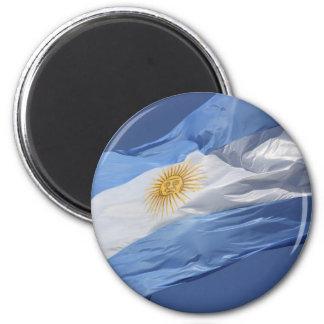 Argentina Flag 2 Inch Round Magnet