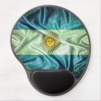 Argentina flag. alfombrilla de ratón con gel