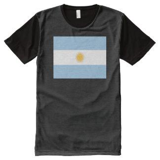 Argentina Flag All-Over-Print T-Shirt