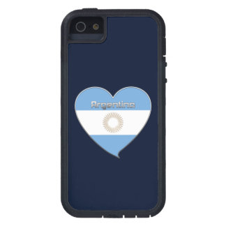 ARGENTINA flag and heart of Argentine colors iPhone SE/5/5s Case
