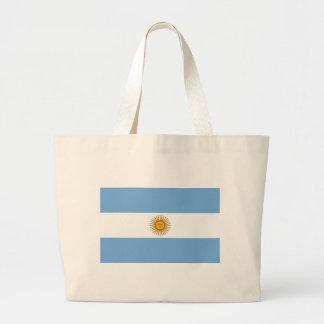 Argentina Flag AR Canvas Bag