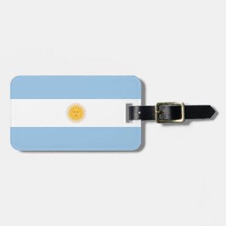 Argentina Flag Bag Tag